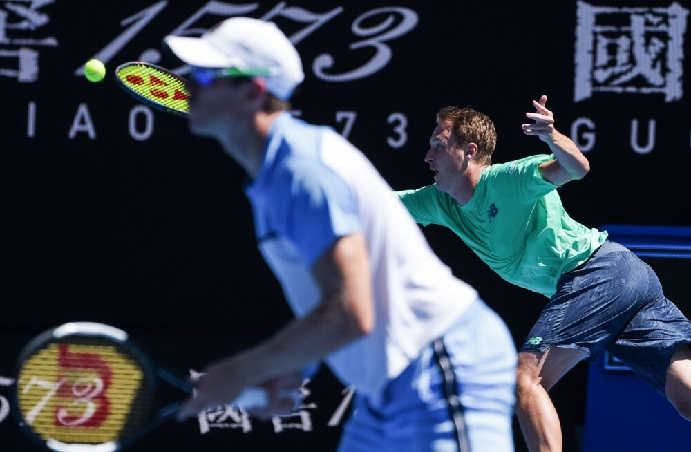 Finaali jõudnud soomlane naudib Australian Openil kodupubliku toetust