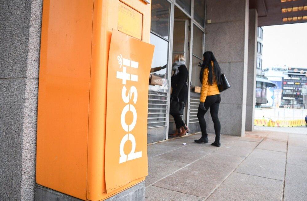 Üks Helsingis asuv postkontor