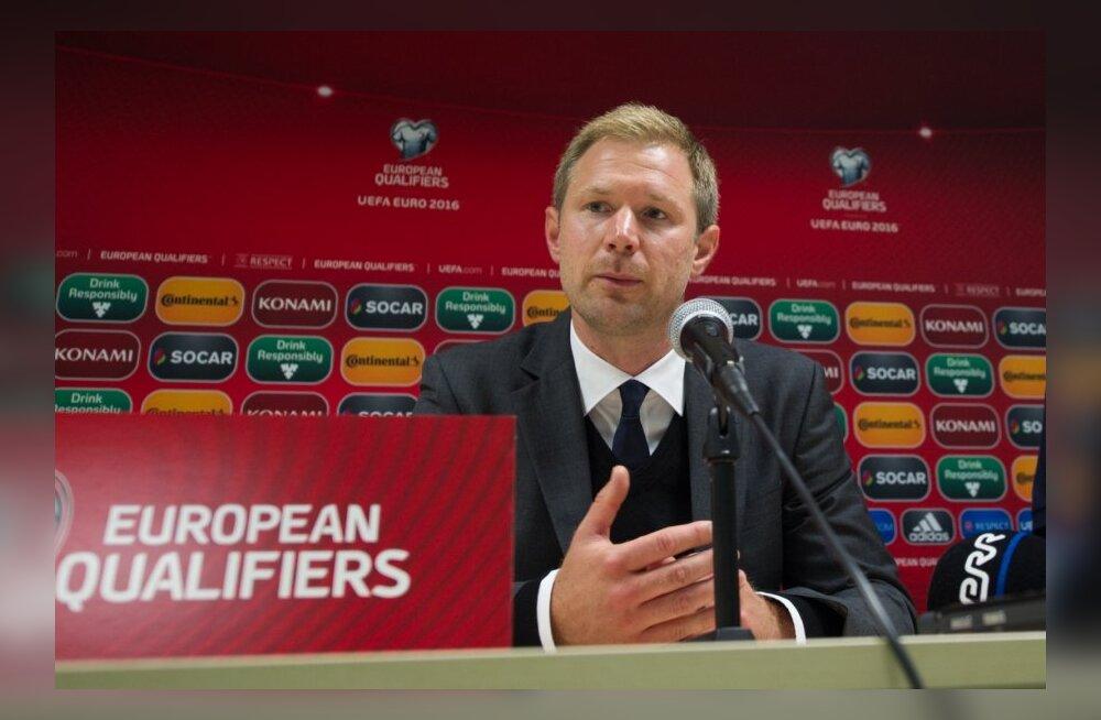 Jalgpall. Magnus Pehrsson pärast mängu Sloveeniaga