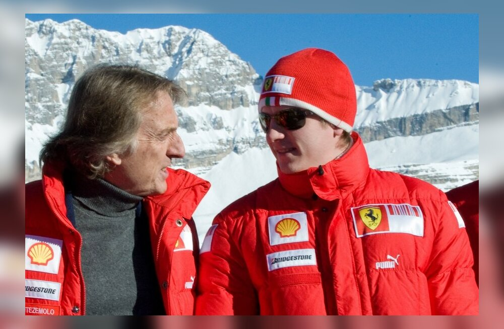 Luca di Montezemolo ja Kimi Räikkönen