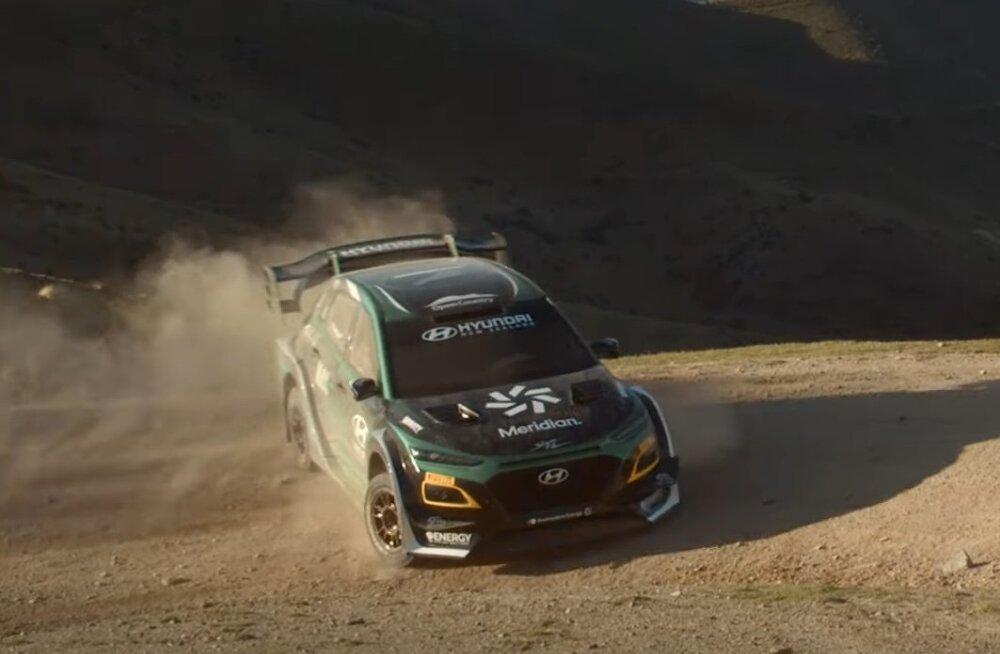 VIDEO | Tulevik on käes? Kuula, millist häält teeb endise WRC-sõitja ehitatud elektrimootoriga ralliauto