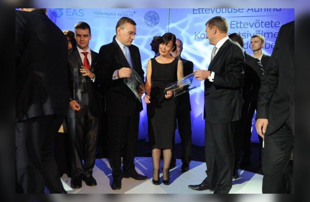 Ettevõtluse auhinna Gala 2012
