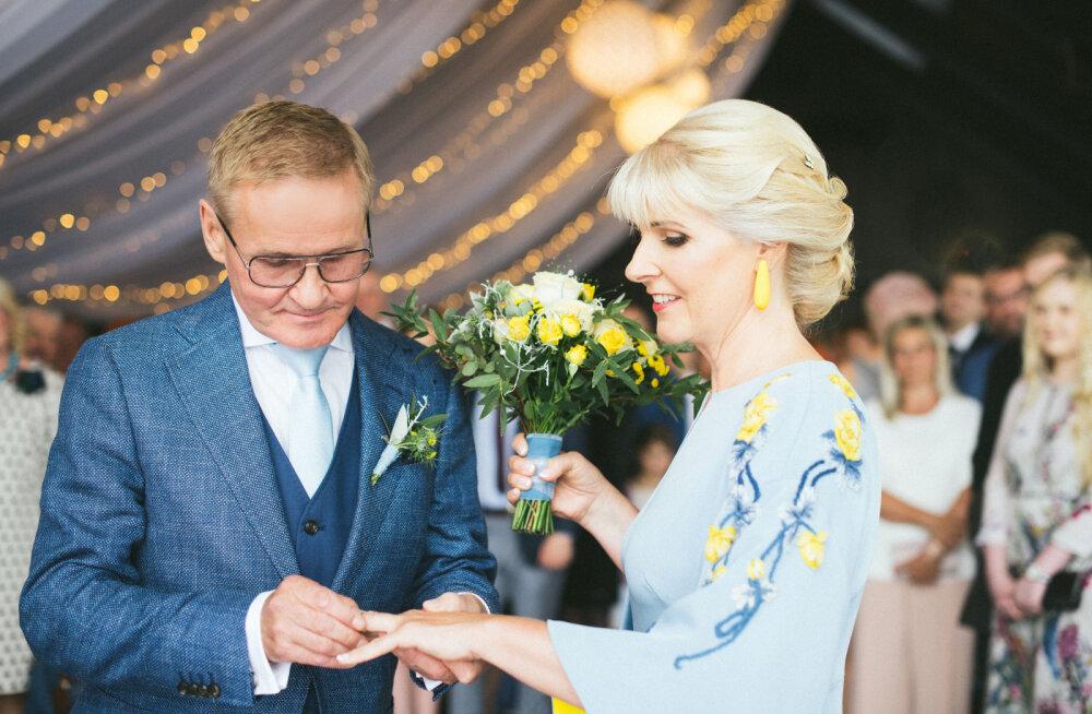 Jaak Aab seadis pulmapäevale omapärase reegli: see oli paljude jaoks selle suve seni suurim pidupäev