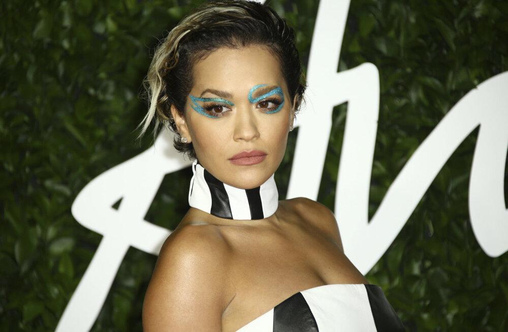 KLÕPS | Selline kaaslane! Vaata, kellega koos Rita Ora stuudios uut muusikat loob