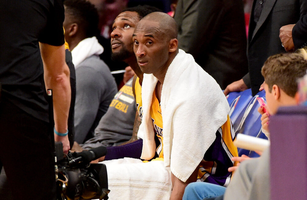 Varalahkunud Kobe Bryanti käterätik müüdi oksjonil ulmelise summa eest