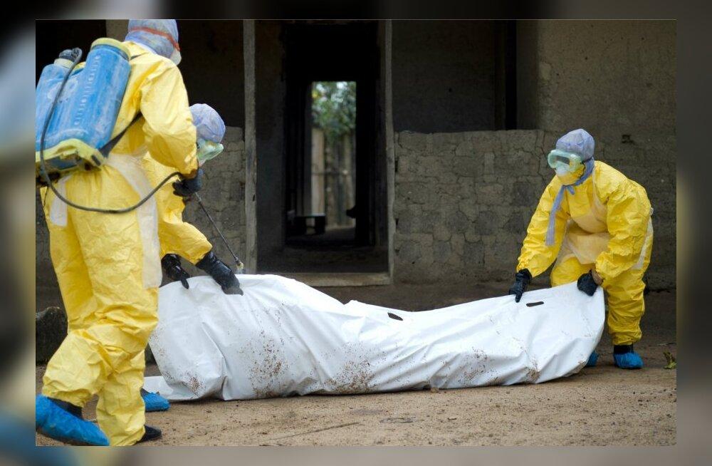 Sierra Leone kõrvalises piirkonnas leiti hunnikutes seni teadmata ebolasse surnuid