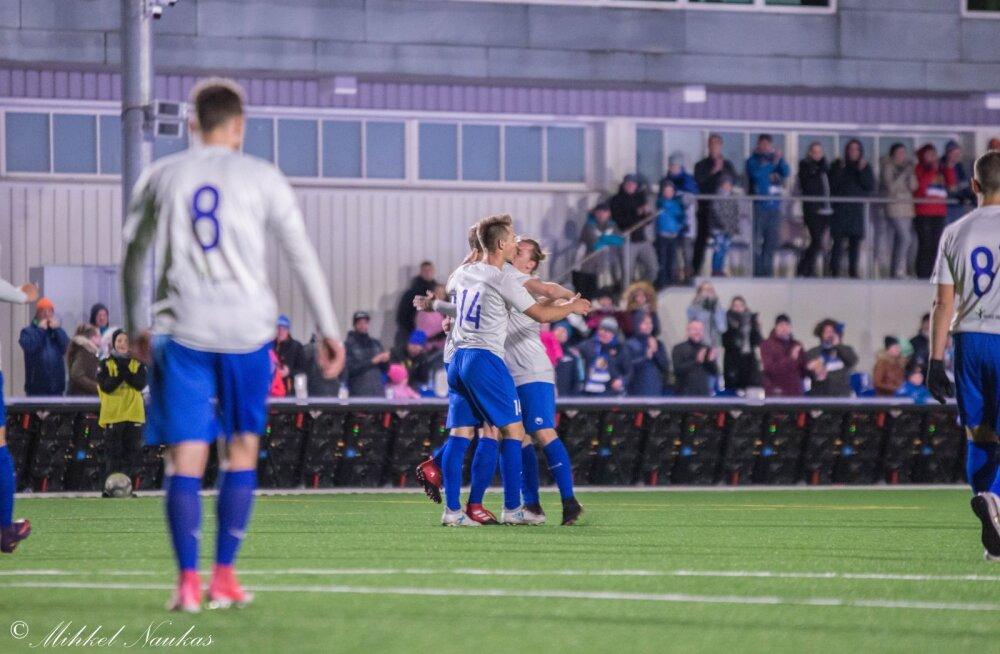 Eesti neljanda liiga meeskond teeb publikunumbri poolest silmad ette 70 protsendile Premium liiga klubidest