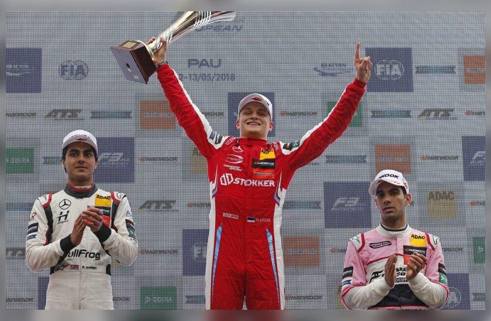Legendide Jackie Stewarti ja Juan Manuel Fangio saavutust korranud Aron: see võit tähendab mulle palju!