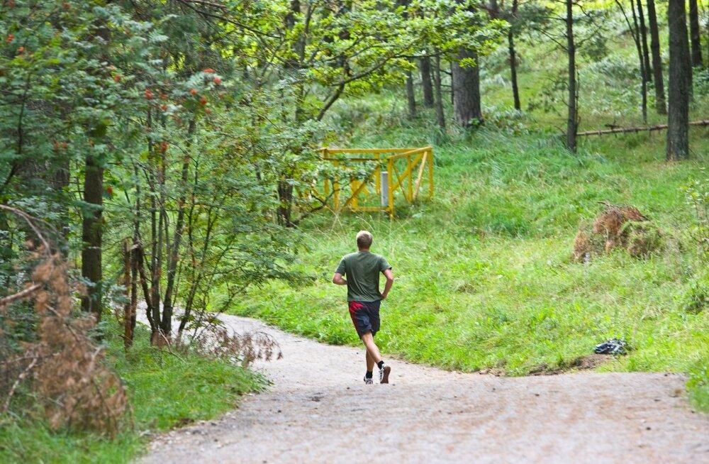 Эстонские тропы здоровья призывают детей и молодежь двигаться как минимум один час в день