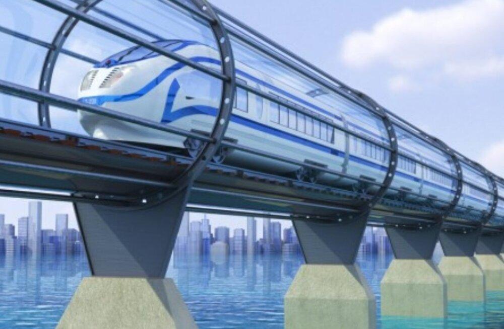 Hyperloop - 23. sajandi lahendus tänase päeva probleemidele? Või lihtsalt haip