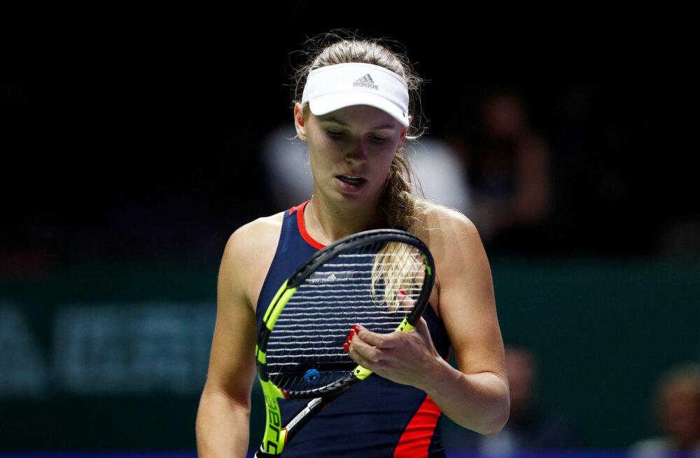 Tiitlikaitsja alustas WTA aastalõputurniiri kaotusega