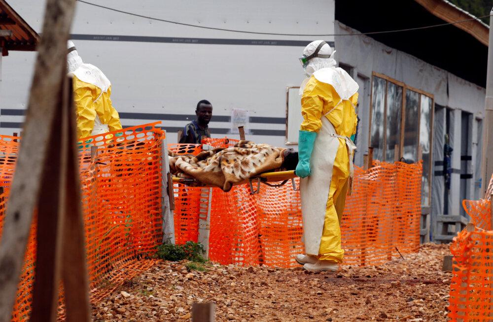 Kongos möllab ebola. Ohvrite arv tõusis 750-ni