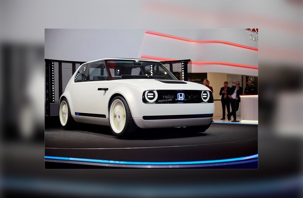 Nunnumeeter läks rikki: Honda elektriline ideeauto näeb tõeliselt retro välja