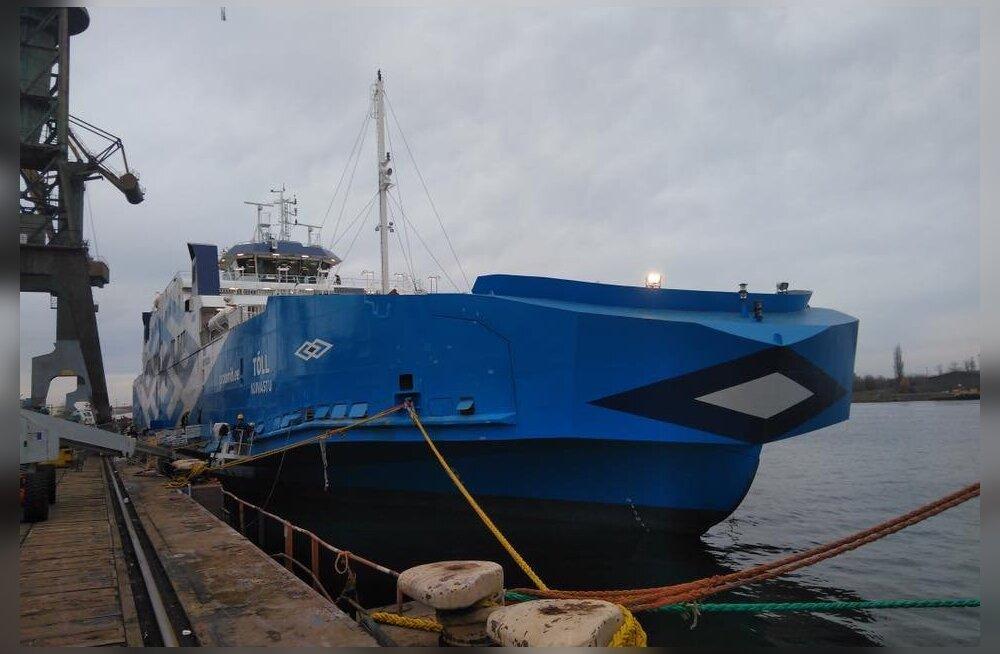 Tõll ei jõua jõuluks koju: TS Laevad ei võtnud Poolas laeva ehitajalt vastu