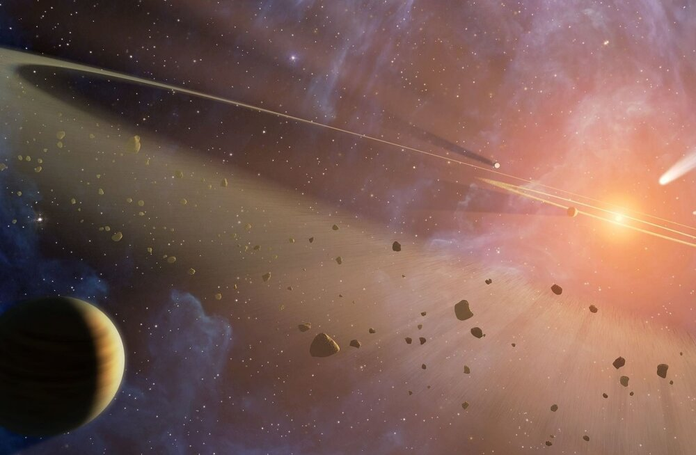 Tähesüsteem Epsilon Eridani: kas meie päikesesüsteemi koopia?