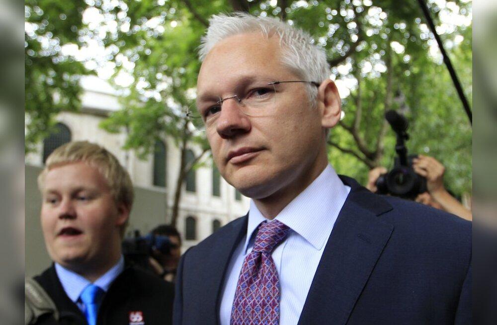 Julian Assange võitleb kohtus enese Rootsile väljaandmise vastu