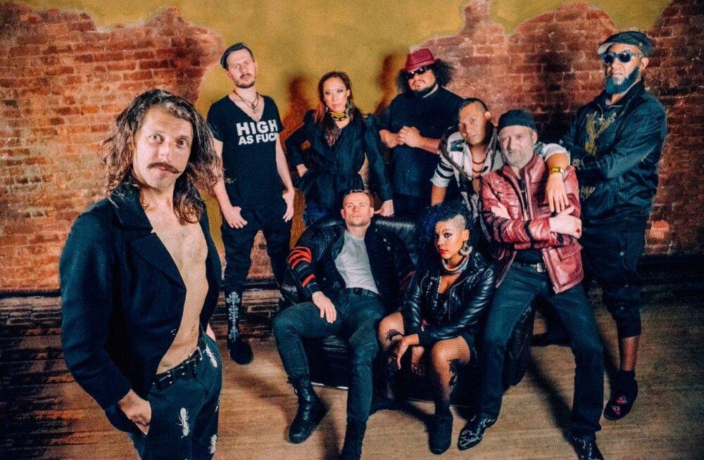 Gogol Bordello on tagas! USA Mustlaspunkansambel esineb kevadel Rock Cafés