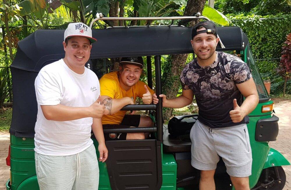 Sri Lanka uusim trend | Sõida ise kolmerattalise tuktukiga seda kaunist riiki avastama