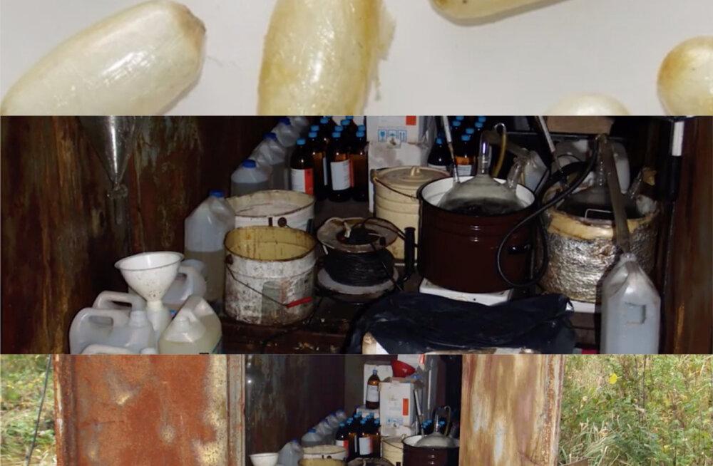 VIDEO | Pesupulber ja rotimürk! Eestis analüüsitud tänavanarkootikumidest leitakse ohtlikke aineid