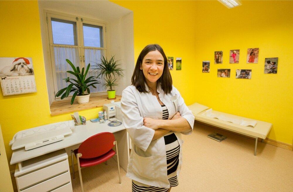 Mooste perearstikeskuse perearst Monika Hõim.