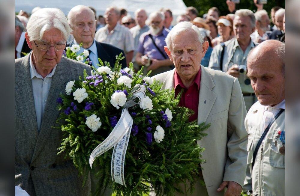 Tervitus Eesti vabadusvõitlejatele