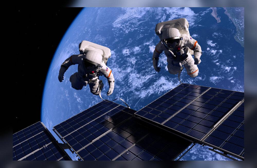 Kas kosmosereis laastab inimese tervise?
