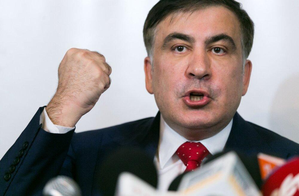 Михаил Саакашвили: люди в Грузии восстали против Иванишвили и РФ