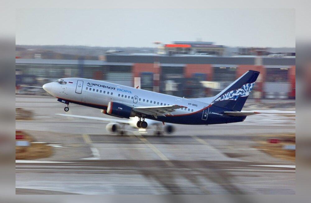 Aeroflot hakkab seitse korda nädalas Tallinnast Moskvasse lendama