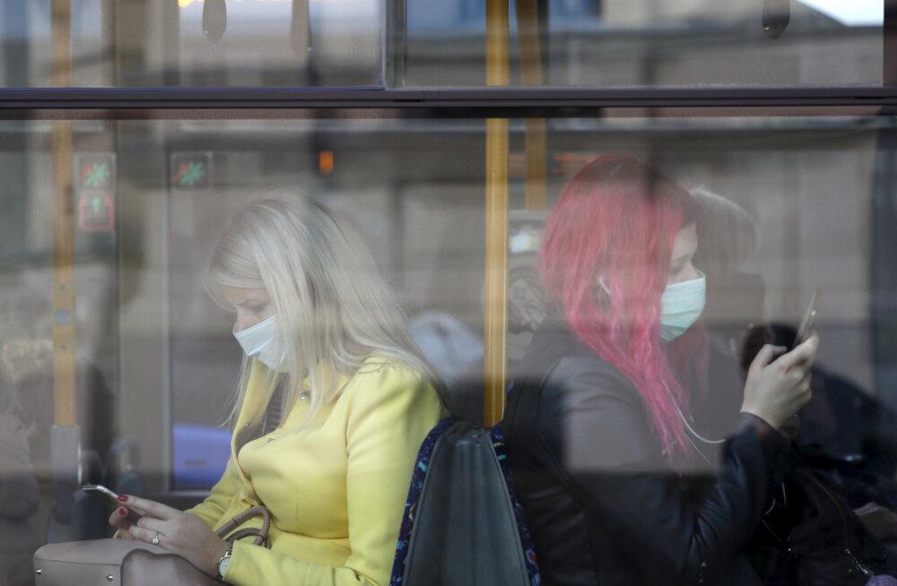 Läti parlament kiitis heaks inimeste trahvimise maskide mitte kandmise eest
