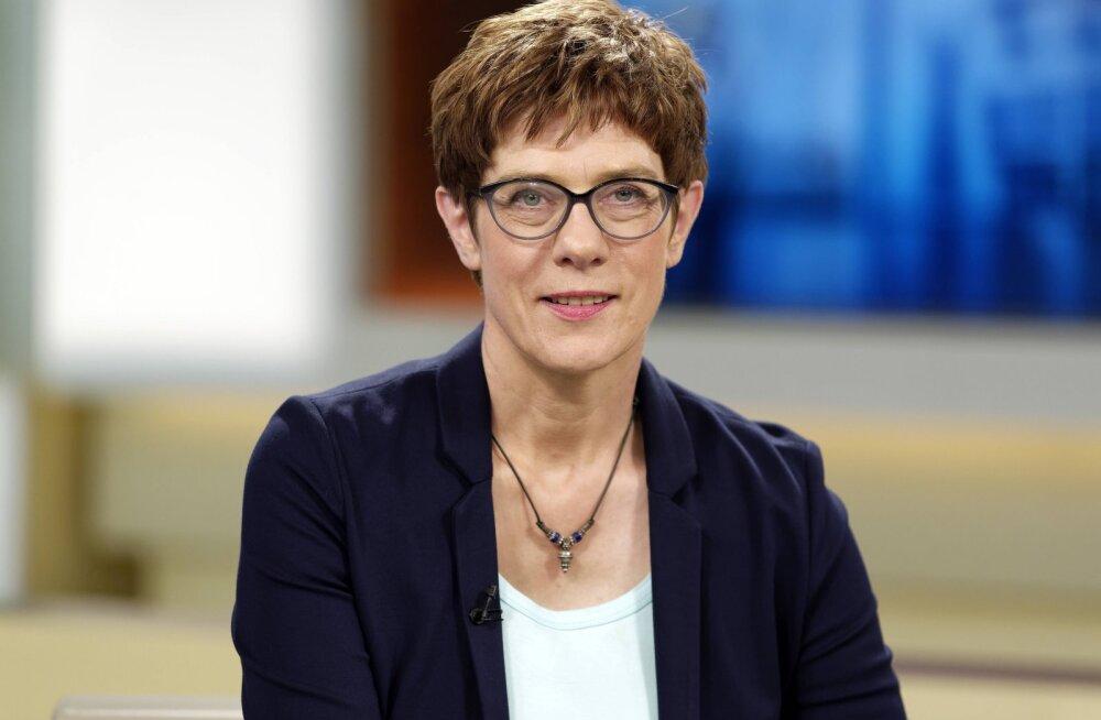 Opositsioon peab Saksamaa uut kaitseministrit Kramp-Karrenbauerit ebapädevaks