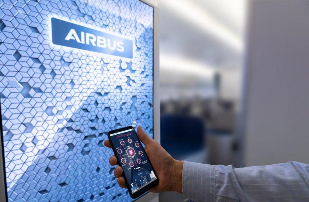 Airbus testib asjade internetti, mis uurib, kui tihti sa lennukis pissil käid