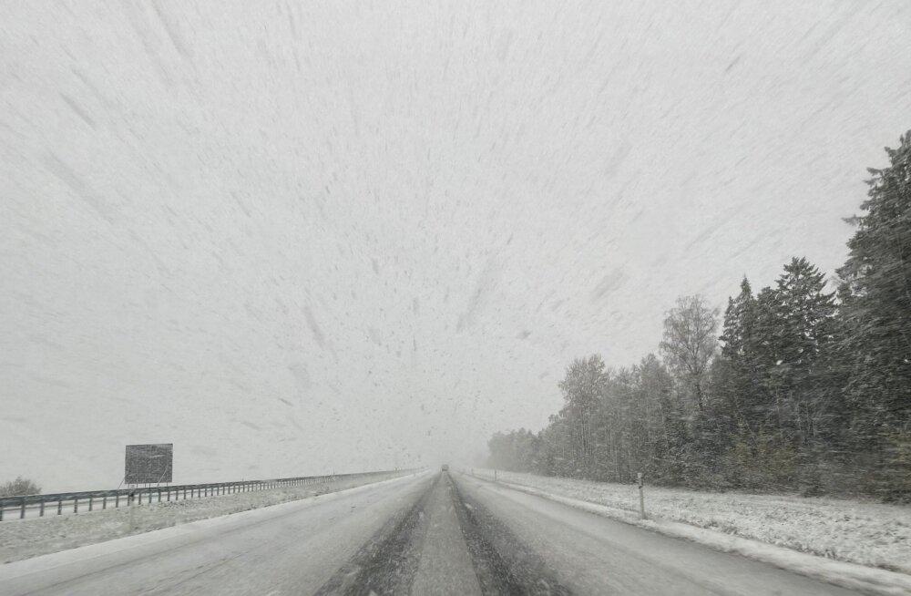 Tallinn-Tartu maantee 19.10.2020