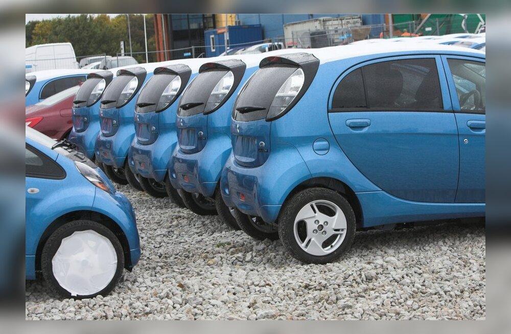 Kredex alustab juuni lõpus elektriautode rendiga