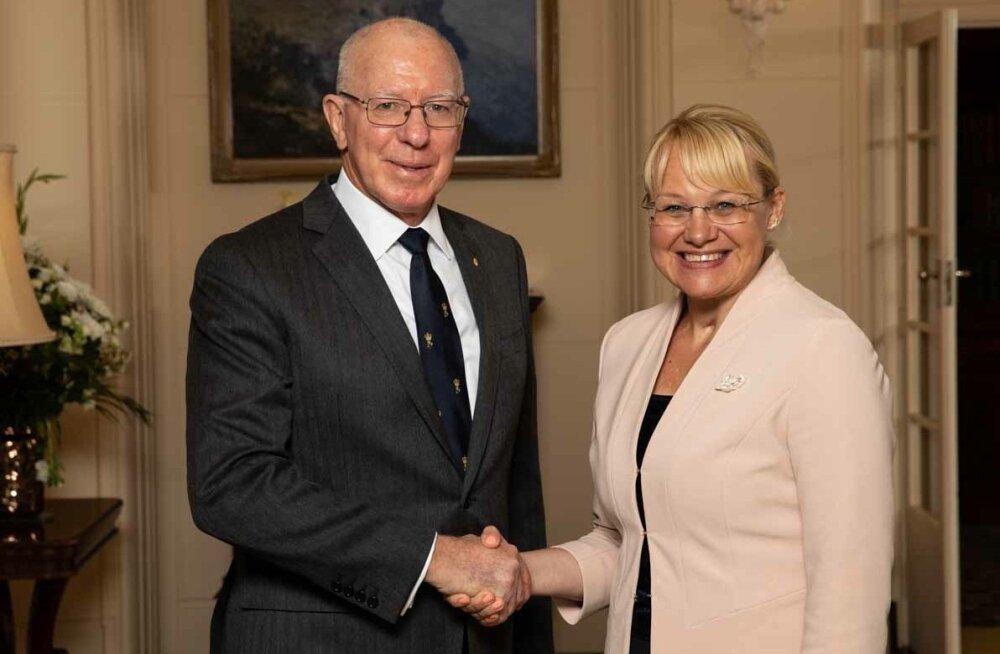 Eesti suursaadik Austraalias Kersti Eesmaa