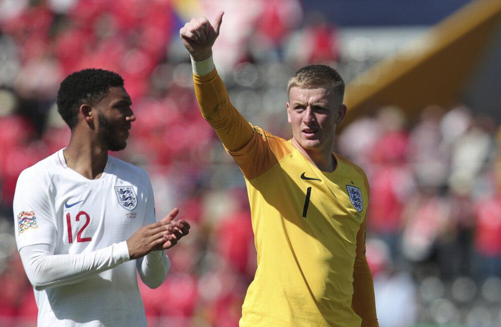 Rahvuste liiga: Inglismaa võitis penaltiseerias Šveitsi ja teenis pronksi
