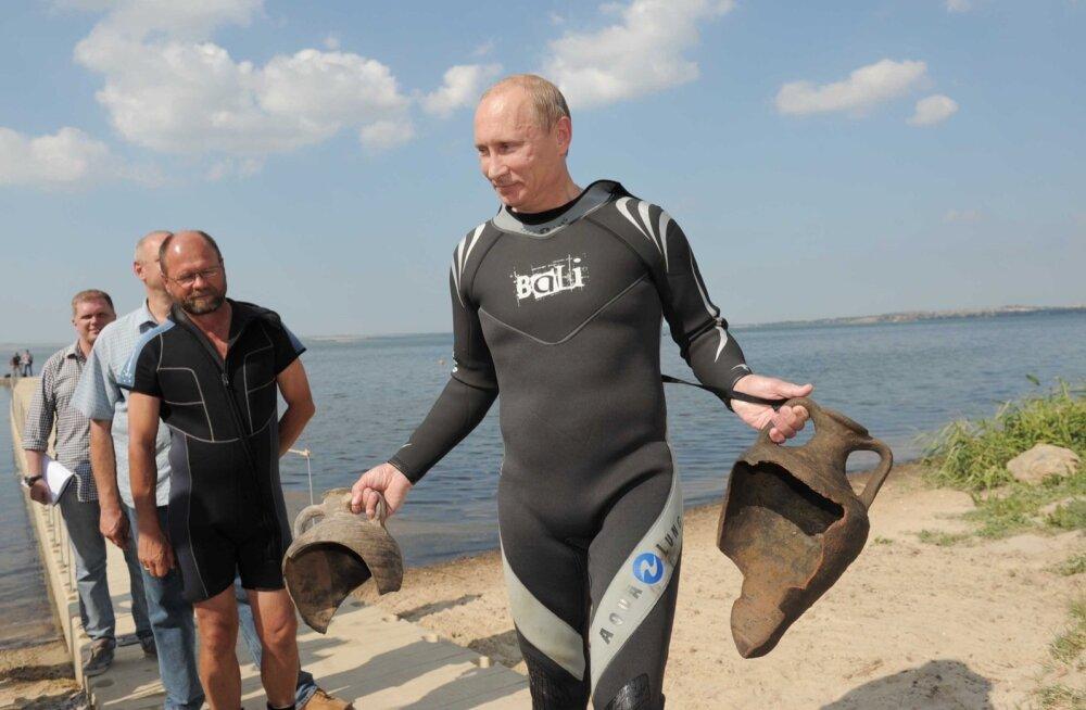 Izvestija: Putin osaleb Vene geograafiaühingu ekspeditsioonil Krimmi