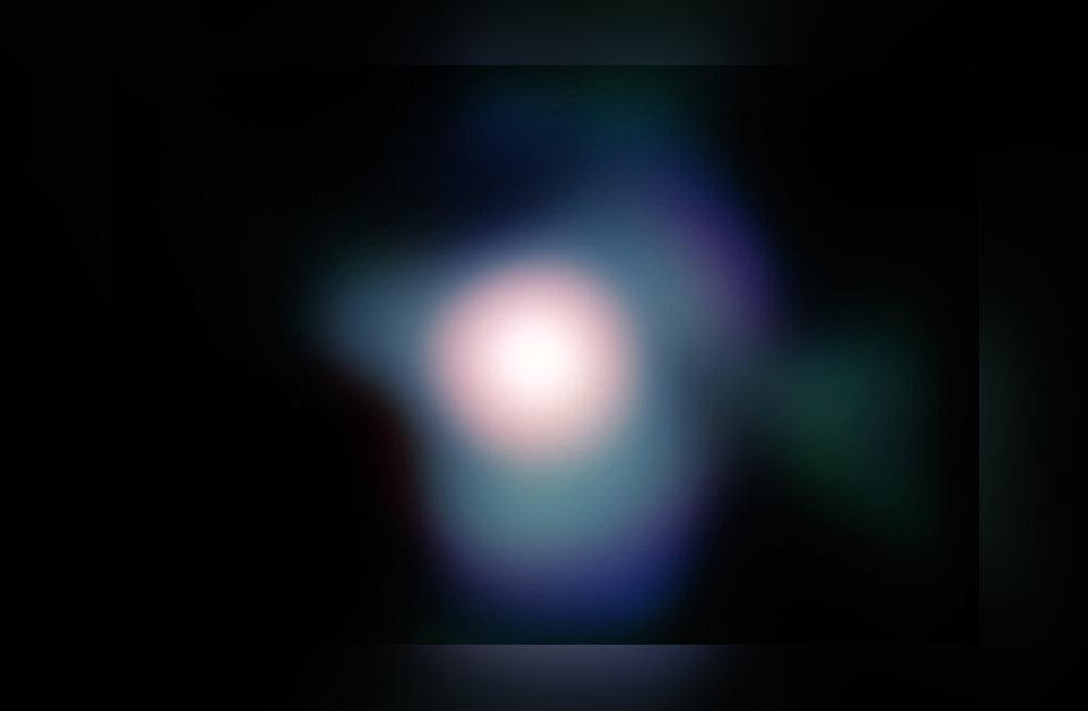 Üks eredamaid tähti näitab võimalikke plahvatamise märke