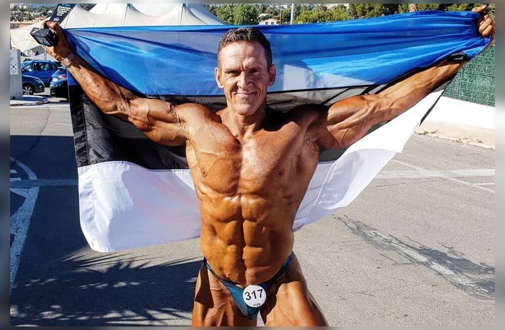 Ott Kiivikas hoidis 20 aastat kulturismis Eesti lippu kõrgel.