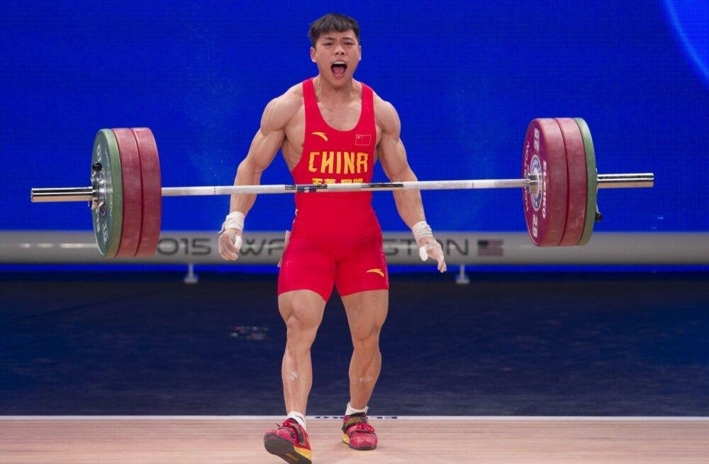 Kehakaalu -62kg maailmameister Lijun Chen