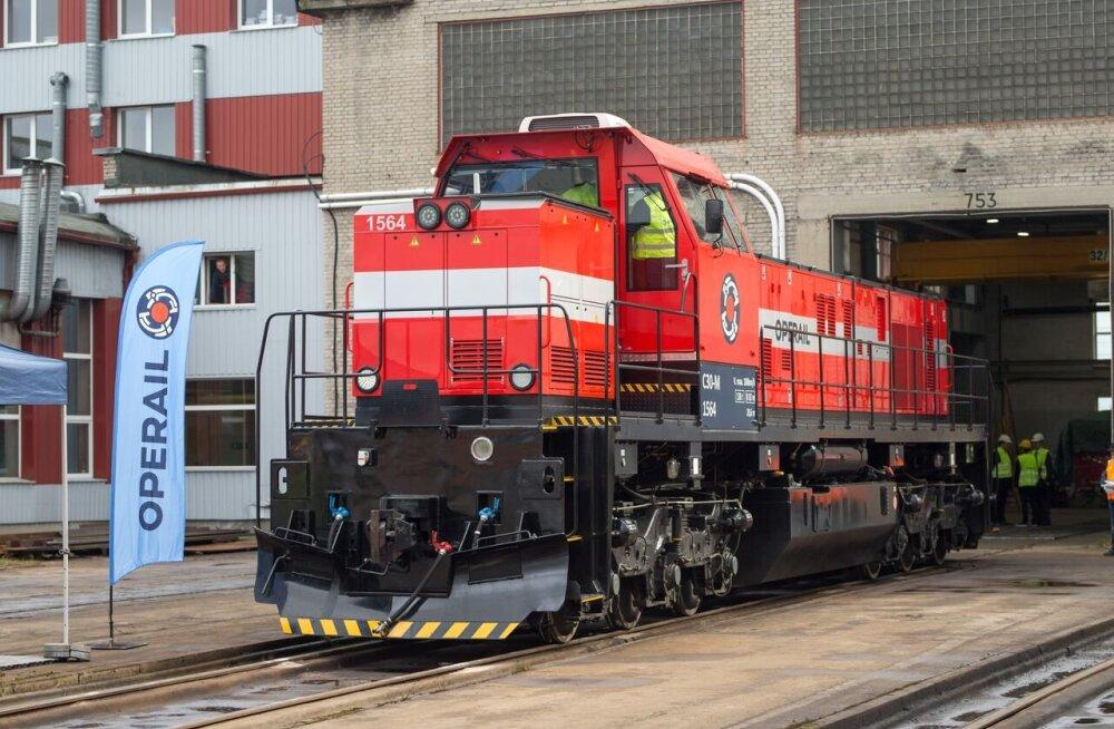 Впервые за долгие годы в Тапа изготовили новый локомотив