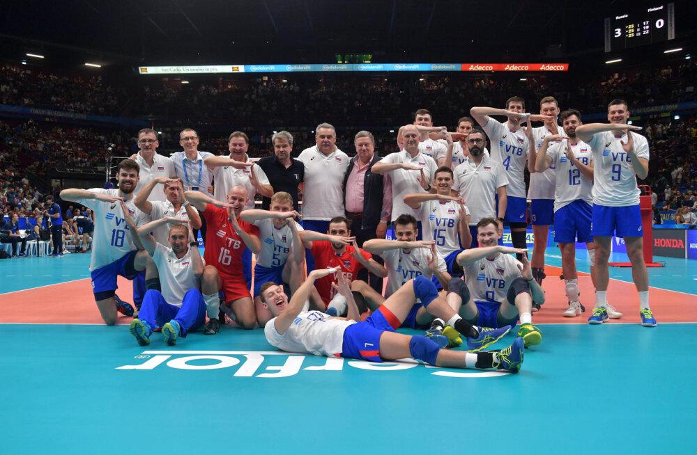 Suvel Eestile kaotanud Belgia tuli võrkpalli MMil seitsmendaks, võitmatu USA loositi ühte finaalgruppi Venemaa ja Brasiiliaga