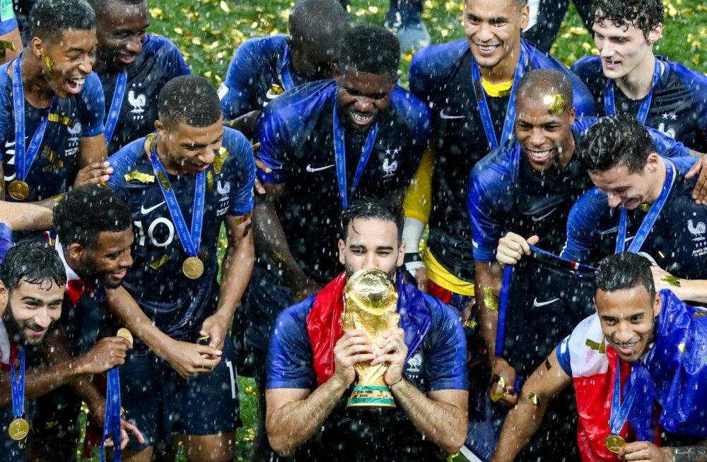 Valitsevad maailmameistrid prantslased