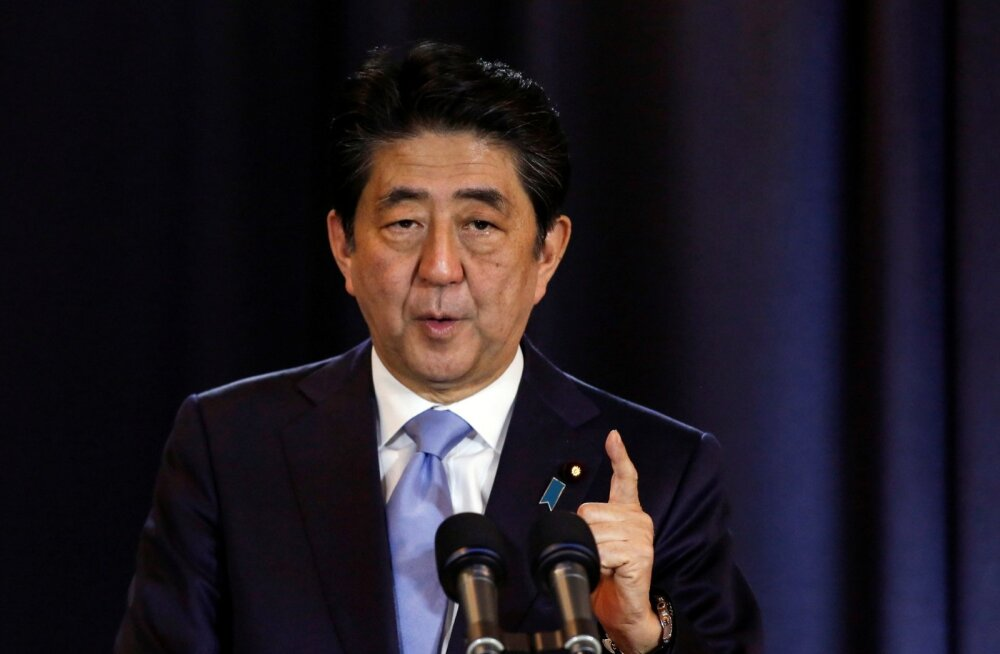 Jaapani peaminister peab Vene rakettide paigutamist Kuriili saartele kahetsusväärseks