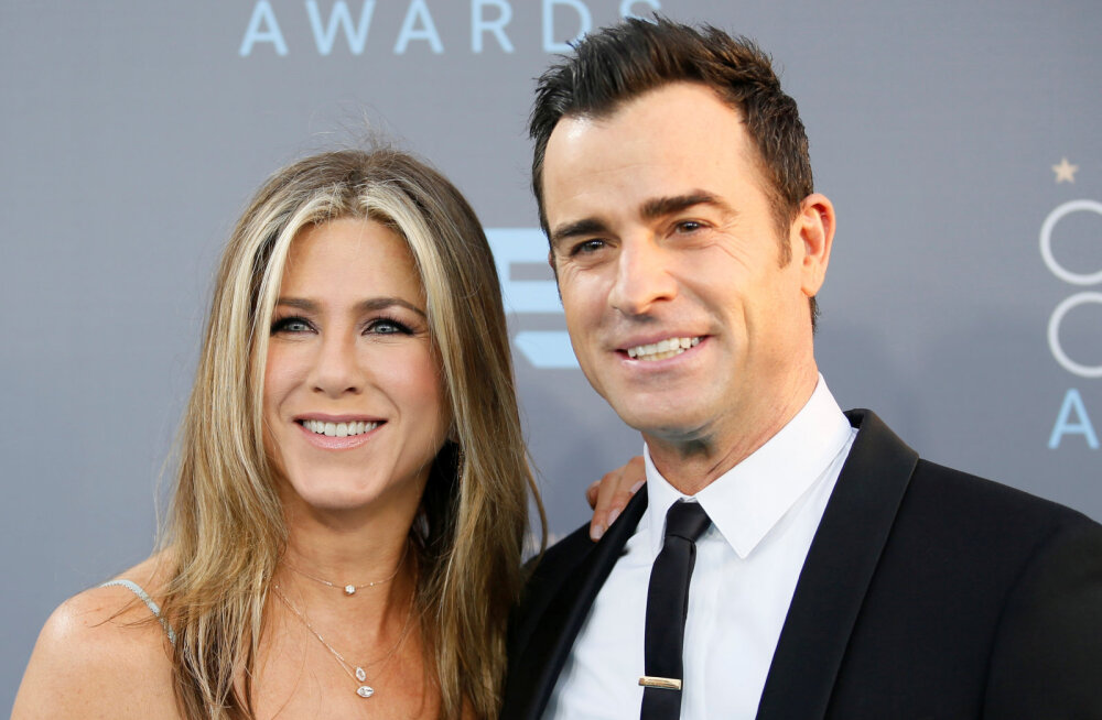 Jennifer Anistoni endine abikaasa Justin Theroux on naabritega koledas sõjas: mul on salvestus, kus ta oma naist ähvardab