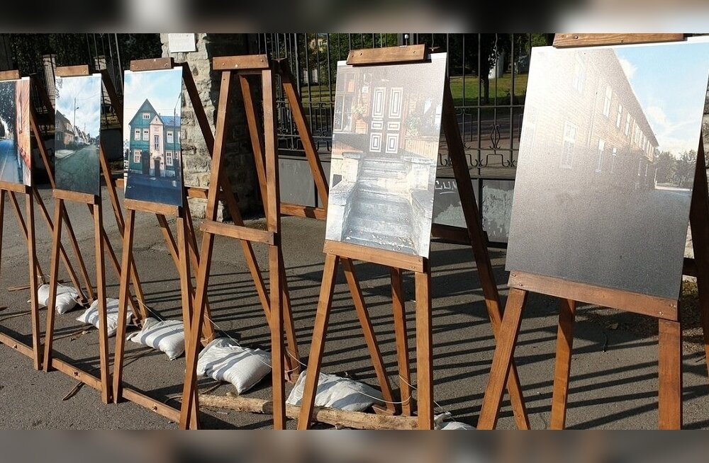 Põhja-Tallinna tänavanäitused on langenud vandaalide ja varaste küüsi