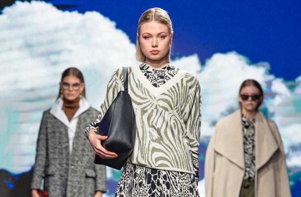 Disainer ja stilist Britta Laumets-Merila tõi lavale sügishooaja trendilemmikud