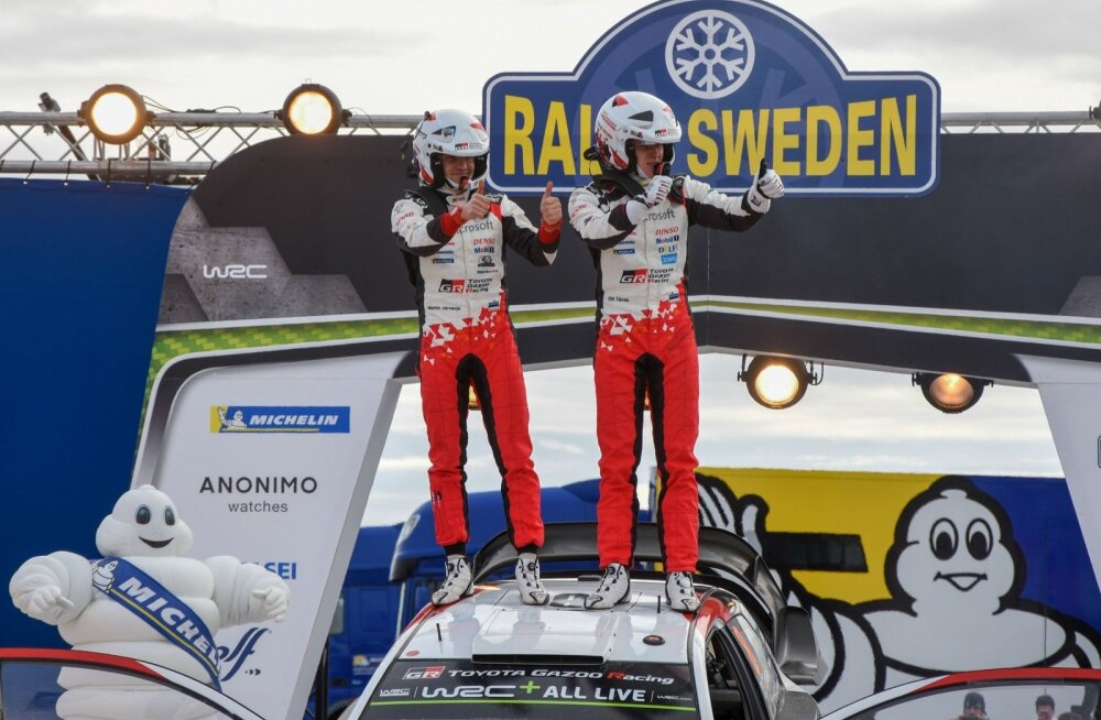 Rootsi ralli 2019 poodium