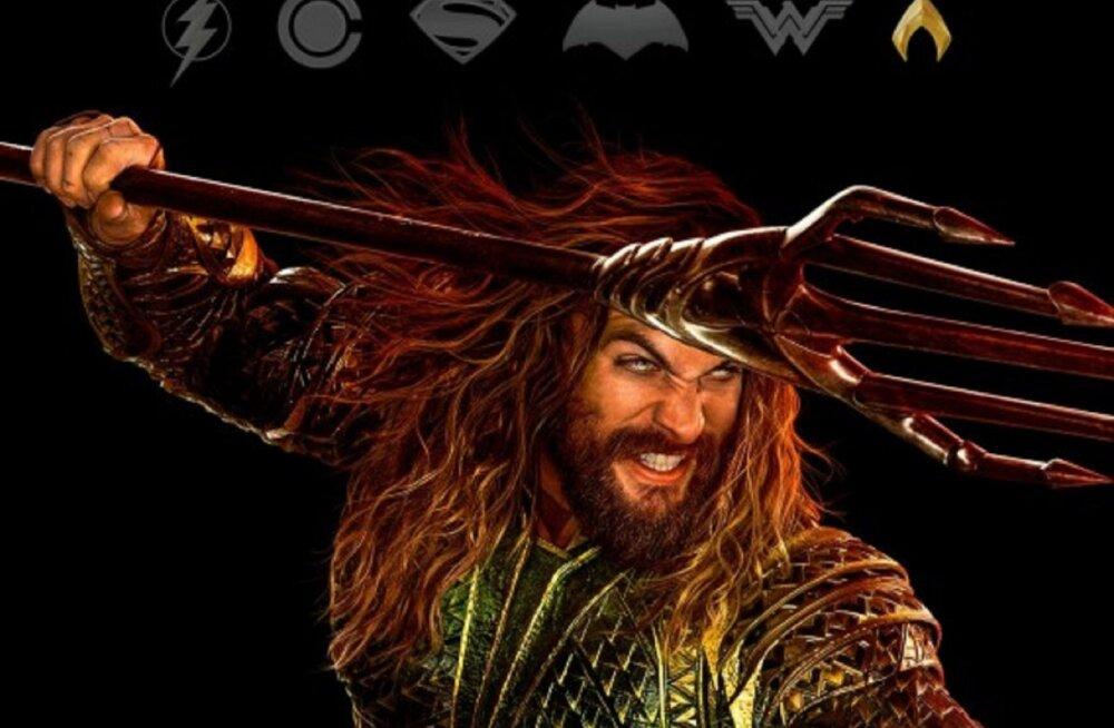 """Kas teadsid, kes on superkangelasefilmi """"Õigluse liiga"""" Aquaman tegelikult?"""
