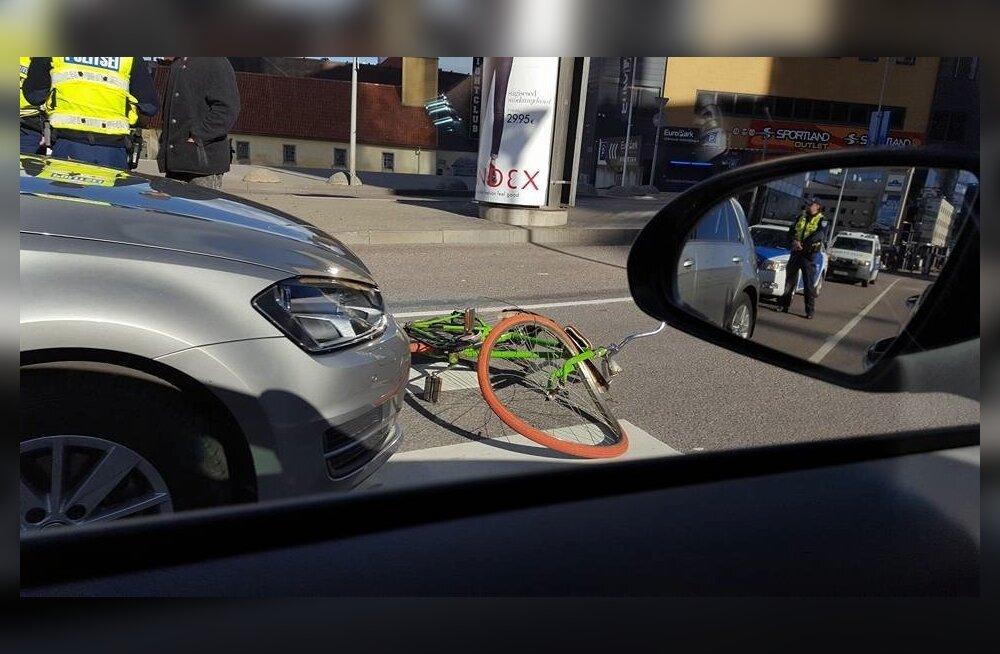 Õnnetus jalgrattaga