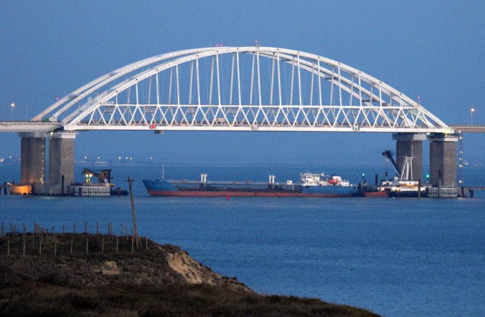 Керченский пролив открыли для гражданских судов